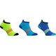 Salming Salm Performance Ankle Socks 3-Pack Blue/Mixed